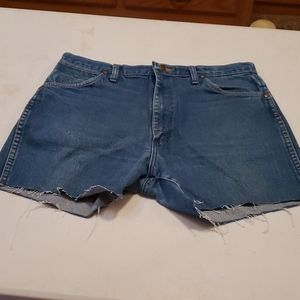 Vintage Wrangler jeans cutoff shorts